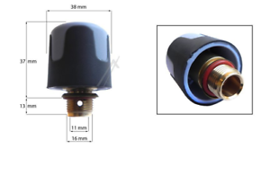 Raccordo per giunzione tubo vapore ferri da stiro Diametro 7 mm L298