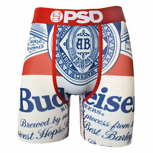 8be2281177c95 Image is loading Budweiser-Beer-Label-Boxers-Red