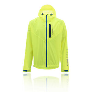 Higher State Hombre Reflectante Ultralite Impermeable Correr Chaqueta Top -