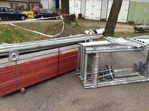 Plettac-SL-70-Baugeruest-ideal-fuer-eine-9m-Traufseite
