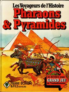 Pharaons et pyramides de Tony Allan Vivienne Henry