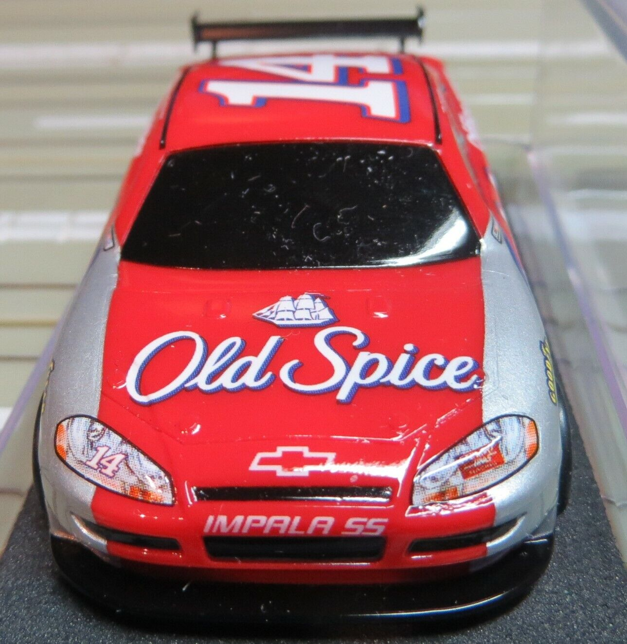 For H0 Slotcar Racing Model Railway Nascar with Life like Engine in Box