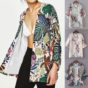 Women-Boho-Print-Kimono-Cardigan-Beach-Swimwear-Beach-Bikini-Cover-Up-Blouse-Top