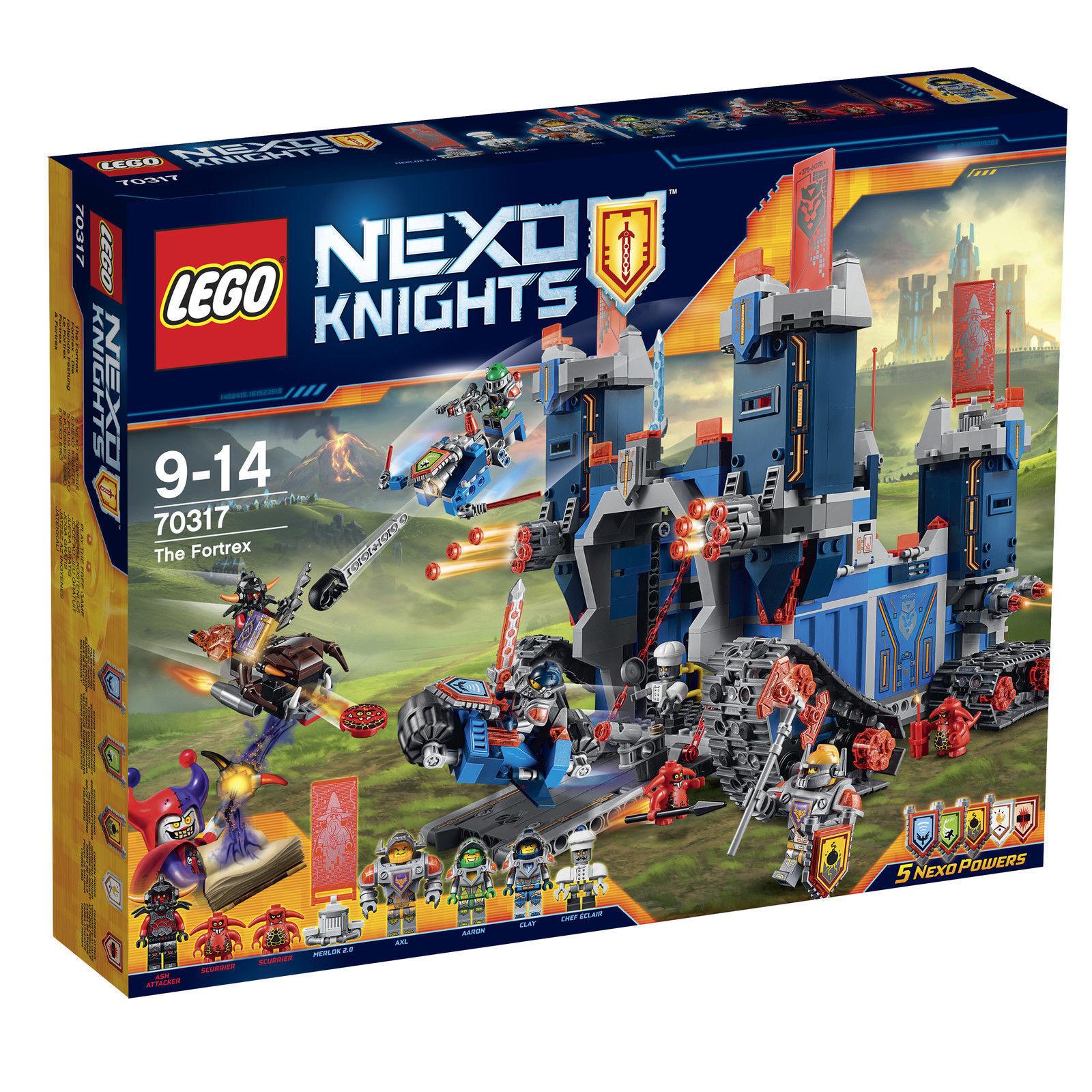 LEGO NEXO KNIGHTS (70317) The Fortrex - Die rollende Festung Festung Festung - NEU & OVP ab5c8b