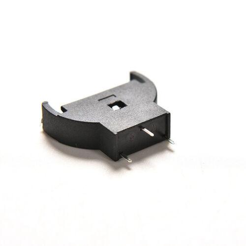 10PCS CR2032 2032 3V Cell Coin Battery Socket Holder Case HwODFS