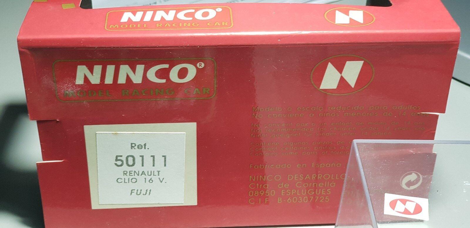 Noël Nouvel An, An, An, l'œuf est courtois CLIO 16V FUJI REF 50111 NINCO 69ce9a