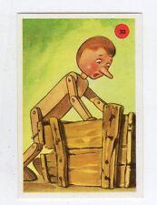 figurina PINOCCHIO LA RACCOLTA DEL CENTENARIO JOLLY 1981 NUMERO 30