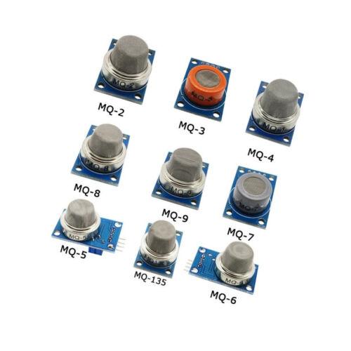 MQ-2 MQ-3 MQ-4 MQ-5 MQ-6 MQ-7 MQ-8 MQ-9 MQ-135 Gas Detection Alarm Sensor Module