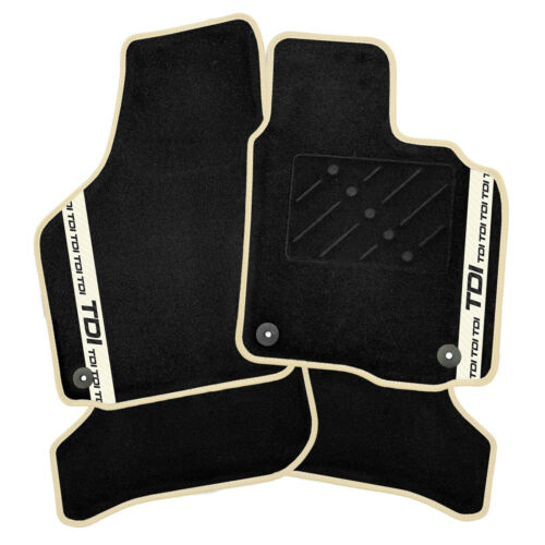 TDI Stripe Volkswagen Passat 2010-2014 Tailored Car Mats T