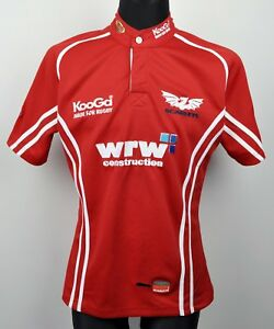 4da9da62e62 Image is loading LLANELLI-SCARLETS-Rugby-Official-Home-Small-Shirt-2006-