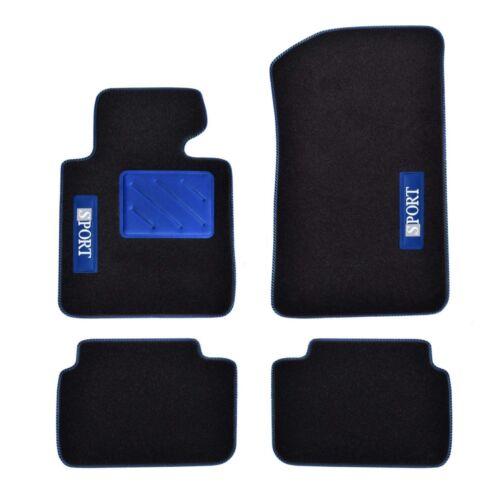 Bj Rau Fussmatten SPOTLIGHT blau Hyundai ix35 ix 35 5trg 02//10-06//15