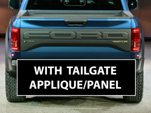 2019 FORD RAPTOR REAR EMBLEM REFLECTIVE INLAY DECAL VINYL GRAPHICS STICKERS F150