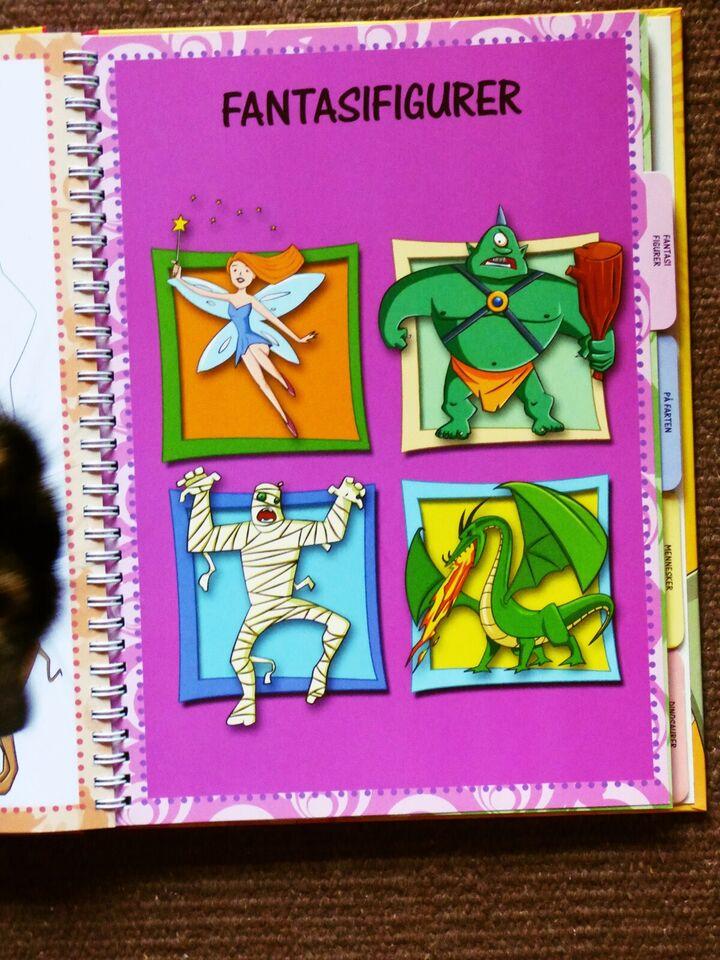 Det er sjovt at tegne, Fiona Tulloch, emne: hobby og sport