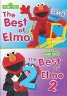 Sesame Street Best of Elmo V1 and V2 DVD