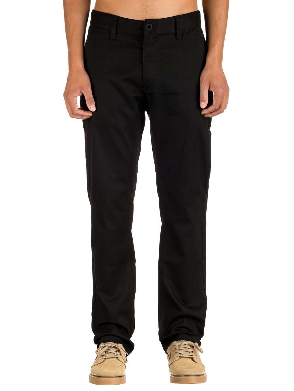 Brixton Union Union Union Chino Pant Trousers Loose Fit Ridgid Classic schwarz 32W 32L BNWT c9bb2e