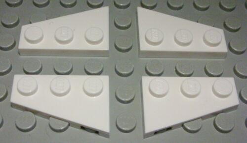 1422 Lego Platte schräg 2x3 Weiss