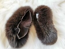 S Max Mara PECHINO Fox Fur Cube Collection Cuff Accessory Msrp $425.00