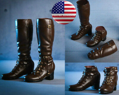 """1//6 Avengers Scarlet Witch Boots B For 12/"""" PHICEN Hot Toys Female Figure USA"""