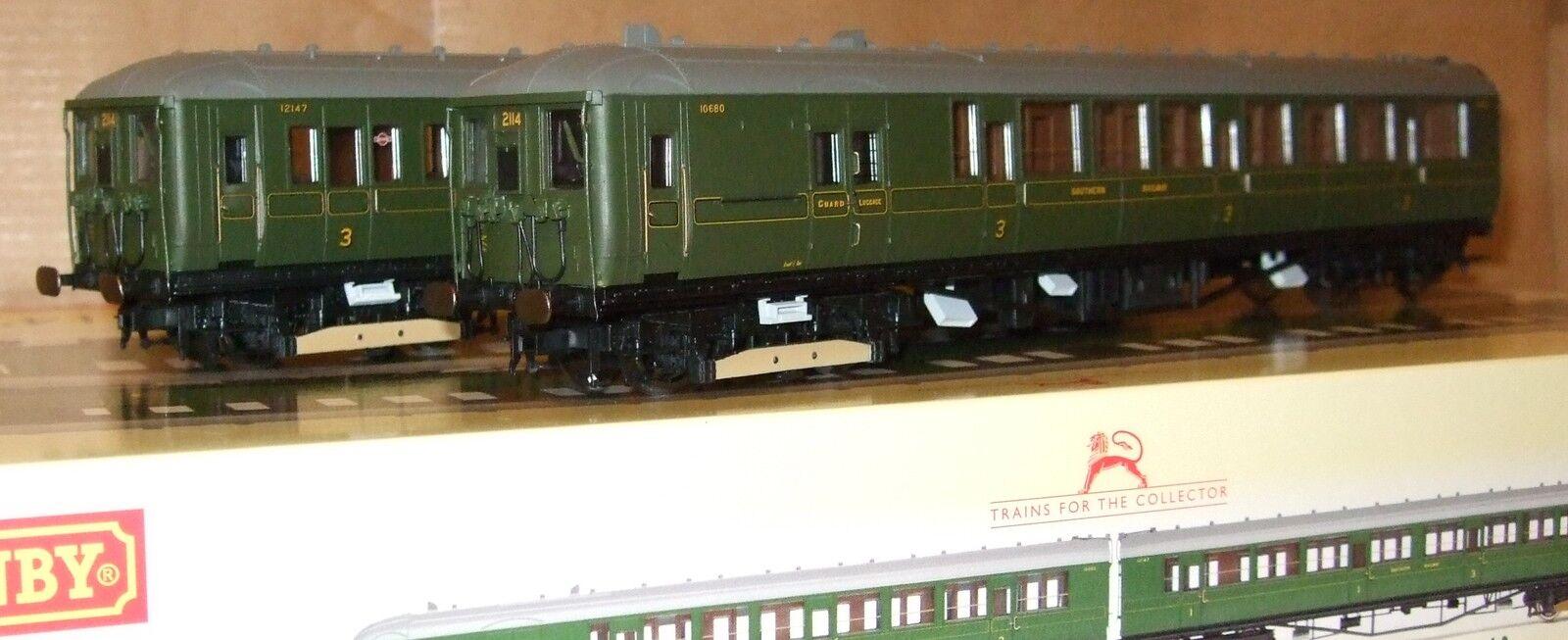 Hornby R3161 BR klass 401 2 -BIL EMU nr 2114 Södra gröna lever NY
