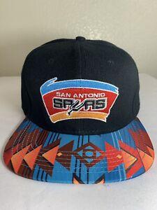 0750d3435 Details about San Antonio Spurs NBA Basketball Hat Mitchell Ness Hardwood  Classic Snapback Cap
