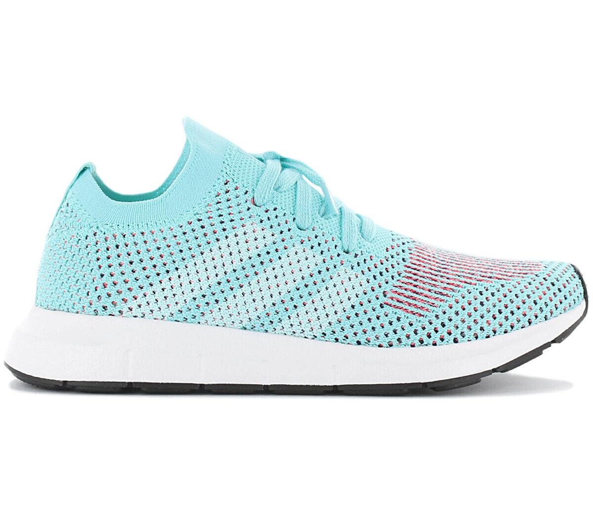 Adidas Originals Swift Run PK W Primeknit Damen Turnschuhe CQ2034 Türkis Schuhe NEU