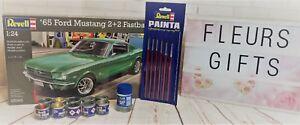 Revell Model 1965 Ford Mustang 2 Fastback Level 3 Kit 01:24 07065 Peinture
