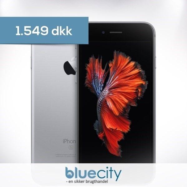iPhone 6S, GB 16, sort
