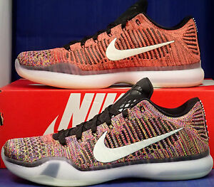 4804551cf8ff Nike Kobe X 10 Elite Low Flyknit Multicolor GID 2.0 QS iD SZ 10 ...
