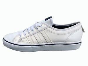 adidas beige nizza low trainers