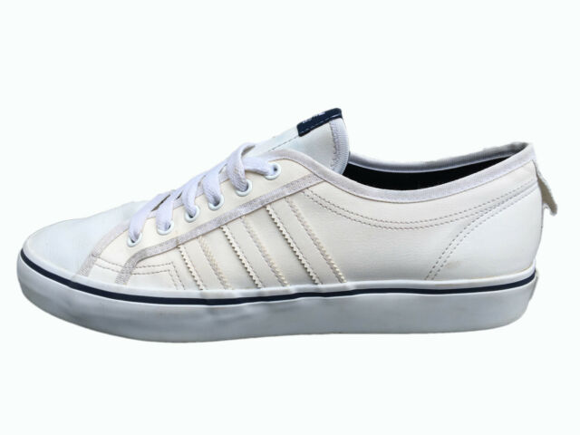 Mens Shoes adidas Originals Nizza Lo Trainers Leather Casual M21662 EU 46 UK 11