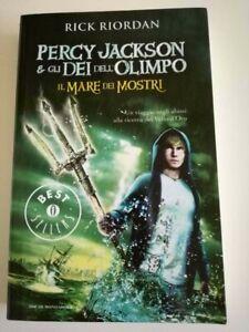 Percy Jackson e gli dei dell'Olimpo : Il Mare dei Mostri - Rick Riordan (2013)