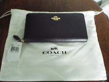 quality design 0f58d 13598 Coach Star Rivets Accordion Zip Leather Wallet 59489 SV ...