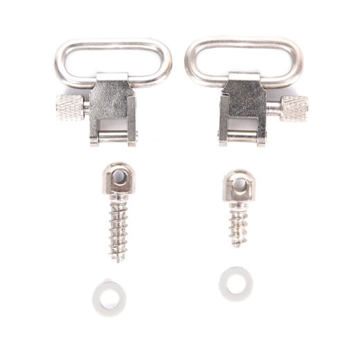 1Pair Steel Strap Ring Professional Quick Detachable Sling Swivel Accessories/_ns