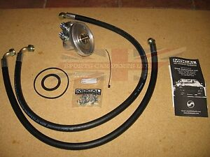 New Oil Cooler Kit W Oil Filter Adaptor Lines Fitting Kit Triumph
