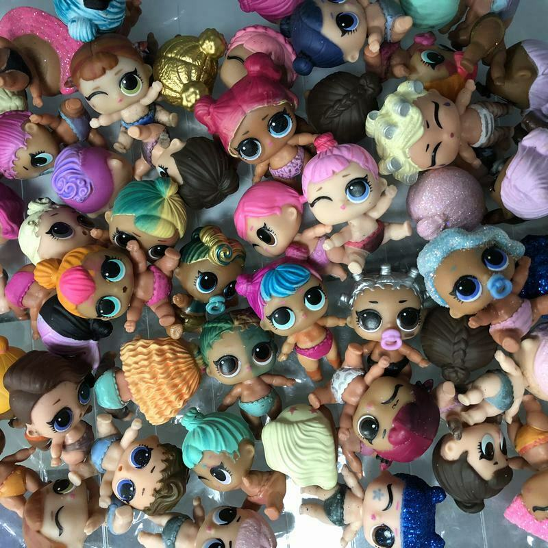 Random Lot 5pcs LOL SURPRISE Dolls LIL SISTERS Series 1 2 3 4 all different toys