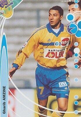 N°227 GHARIB AMZINE # MAROCCO RC.STRASBOURG CARD CARTE DS FOOT 2000