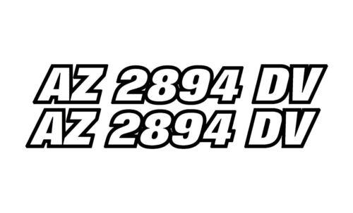 Team Sea Doo Decal Sticker 12