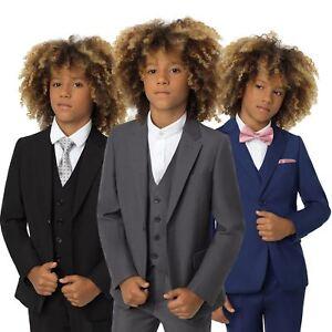 9c467ef16fc9cc Boys suits, 3 piece boys wedding suit, Modern fit, 3 colours, 1 - 14 ...
