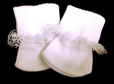 """White Lace Socks Accessories made for 18"""" American Girl Doll Clothes"""