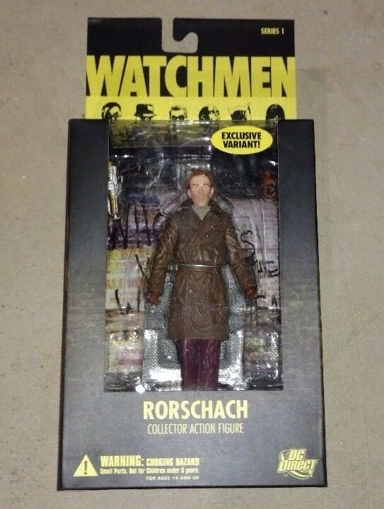 RORSCHACH Unmasked Variant Action Figure Watchmen DC Direct NEW NEW NEW UNOPENED a9c105