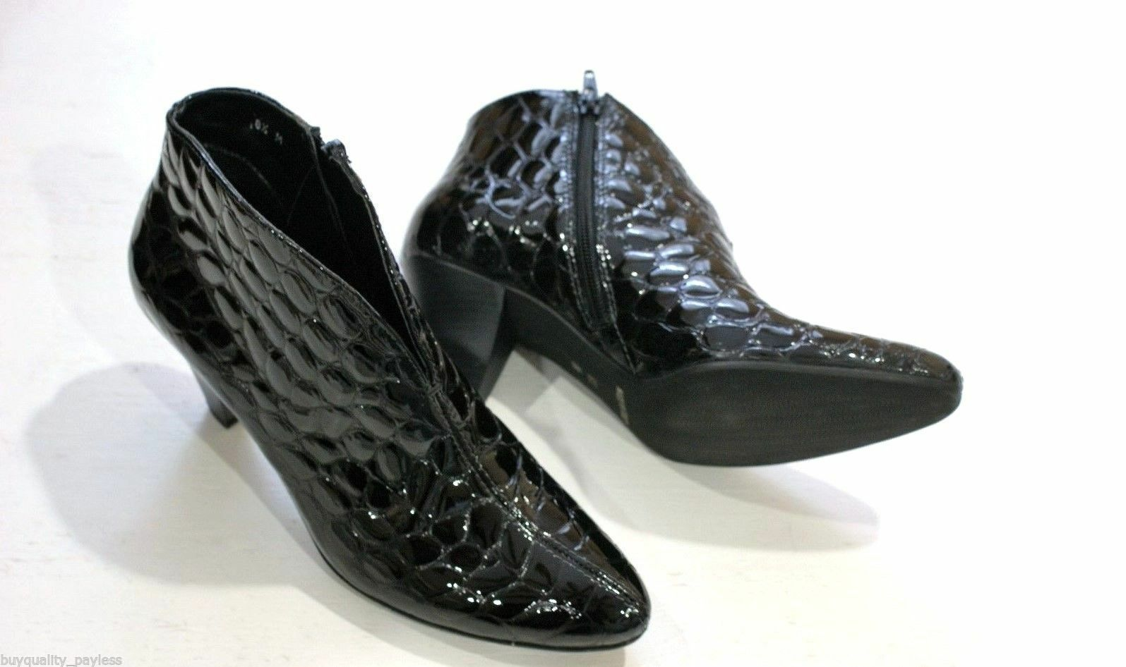 325 SESTO MEUCCI ABRIL CROCO Ankle Boots shoes shoes shoes Women's 8 NEW IN BOX ff1983