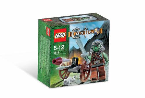 Brand New Lego Castle 5618 The Troll Warrior Retired