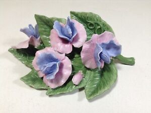 LENOX-SWEET-PEA-Garden-Flower-sculpture-NEW-in-BOX