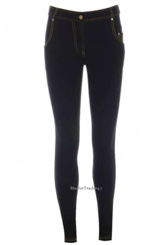 Ragazze donne signore Denim Jeans Look STRETCH Jeggings leggings attillati Taglie 8-26