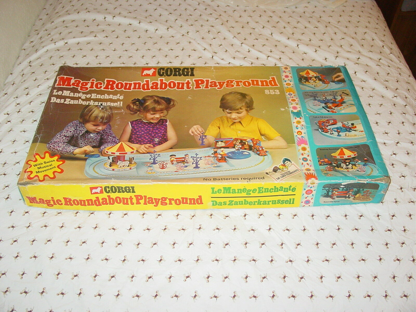 Corgi Toy Magic Roundabout Playground Playset - USED with Box - Very Rare