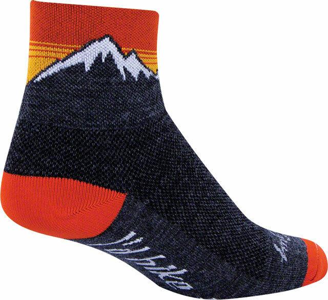 Black LG//XL SockGuy Classic Chase Sock