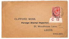 "R26 1915 Ilkley, Yorks. ""Foreign Stamp Importer"""