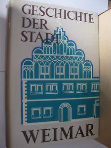 Geschichte-der-Stadt-Weimar-Heimatbuch-Chronik-275-Abbildungen-Selten-Pappschube