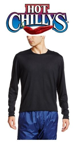 PS3000 HOT CHILLYS MEN/'S PEPPER SKINS CREWNECK NEW! SIZES BASE LAYER BLACK