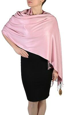 ef6b8ef77 Details about York Shawls Handcrafted Pashmina Wrap Shawl Stole - Free  Hanger - 29 Colours